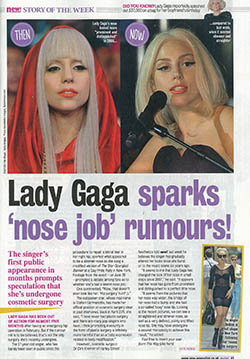 cover New! Magazine 09.07.2013 Lady Gaga