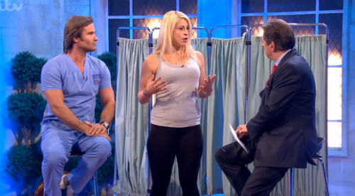 Dr Kremer on the Alan Titchmarsh Show discussing weight loss