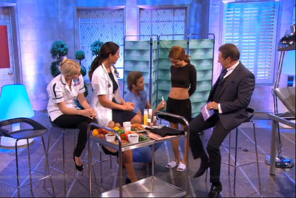 Dr Kremer on Alan Titchmarsh Show - Post pregnancy tummies