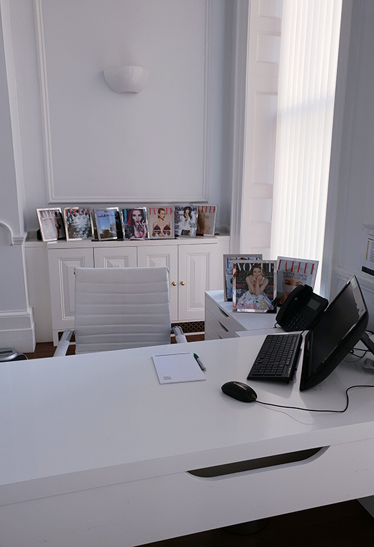 Interior photo off the office